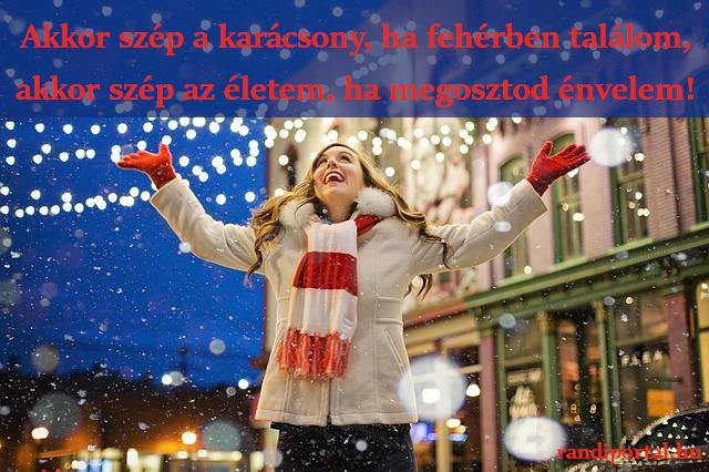 karácsonyi szerelmes idézet, akkor szép