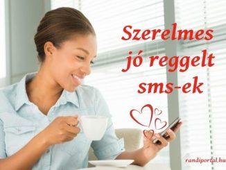 szerelmes jó reggelt sms-ek